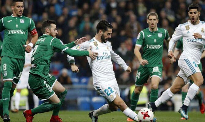 LaLiga Santander Real Madrid vs Leganés