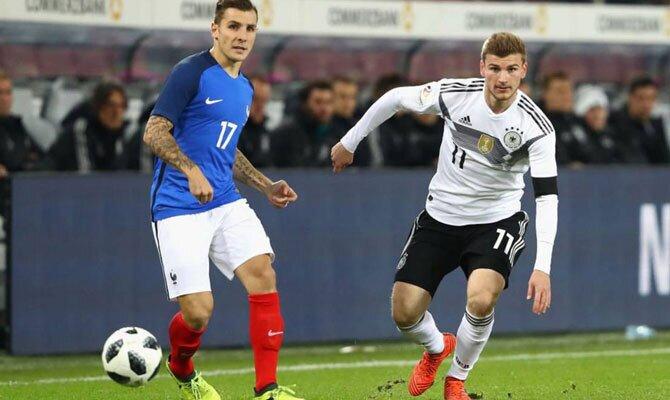 Alemania vs Francia Liga de las Naciones