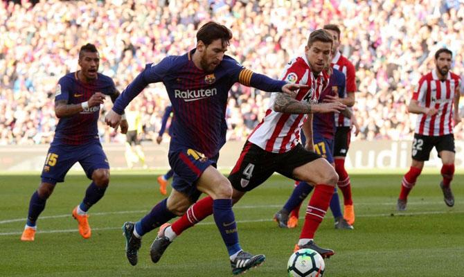 Barcelona vs Athletic Bilbao LaLiga