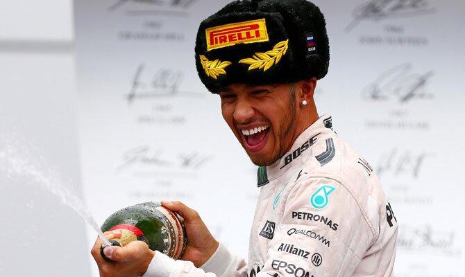 Hamilton victoria Gran Premio de Rusia