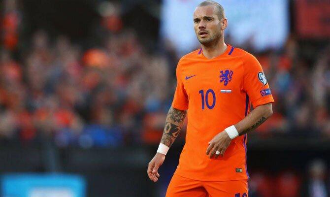 Holanda vs Perú Wesley Sneijder