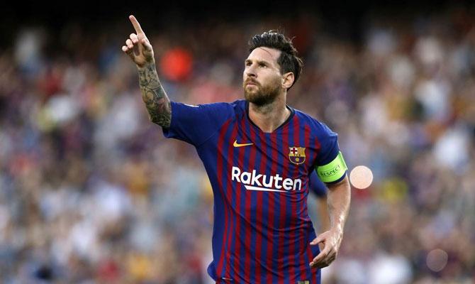 Messi favorito máximo goleador de la Champions