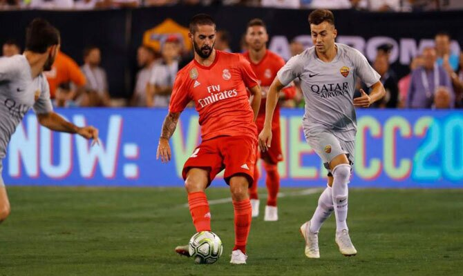 Real Madrid vs Roma Champions League
