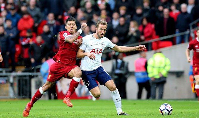 Tottenham vs Liverpool Harry Kane