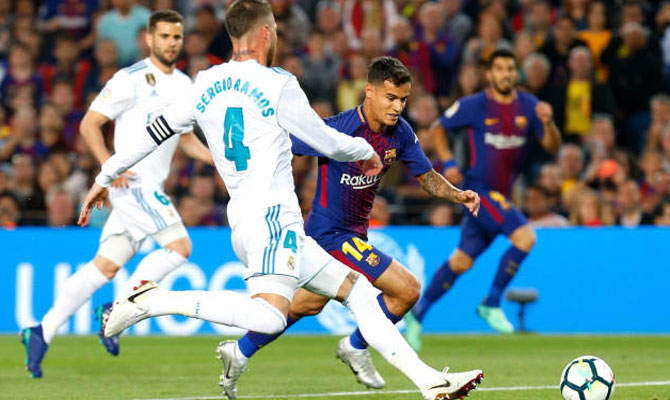 Barcelova vs Real Madrid El Clásico