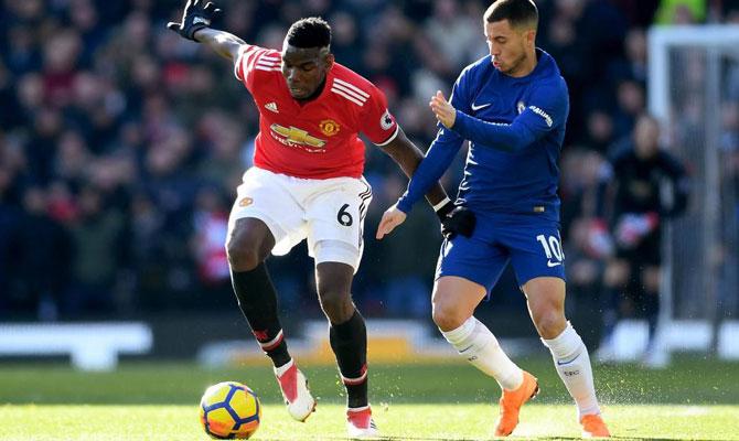 Chelsea vs Manchester United Premier League