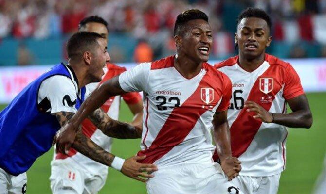 Estados Unidos vs Perú Amistoso