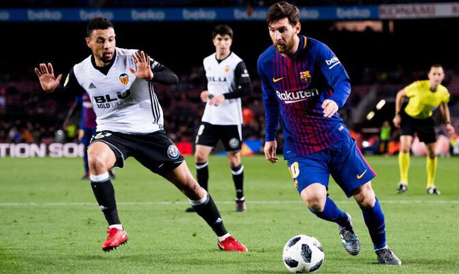 Valencia vs Barcelona LaLiga