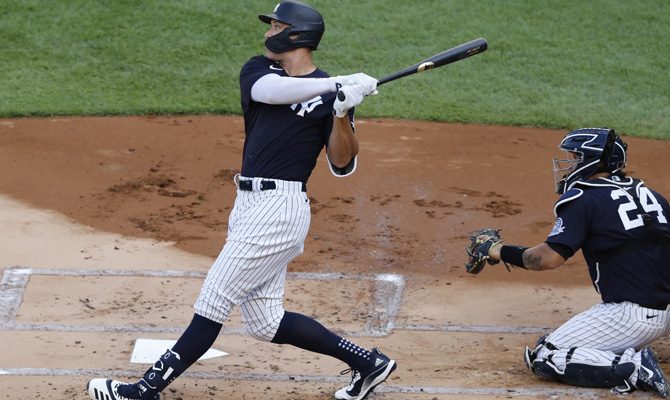 Aaron Judge de los New York Yankees, favoritos para ganar la MLB