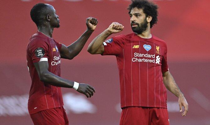 Manchester City vs Liverpool, Sané y Salah
