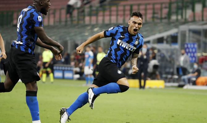 Lautaro Martínez, Atalanta vs Inter