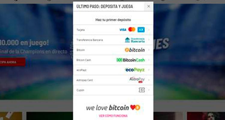Selección depósito Banco Santander