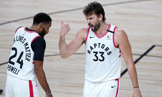 Marc Gasol Boston Celtics vs Toronto Raptors