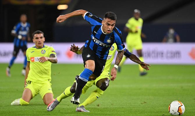 Lautaro Martínez, Inter vs Bayer Leverkusen