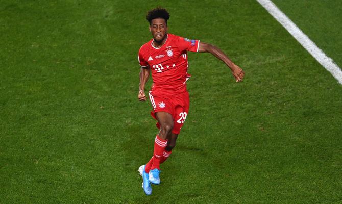 Kingsley Coman Bayern Múnich vs Schalke 04