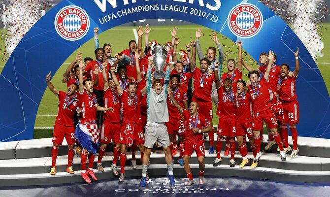 El Bayern Múnich levanta la Orejona, imagen que podría repetirse teniendo en cuenta que son los favoritos para ganar la Champions League 2020/2021