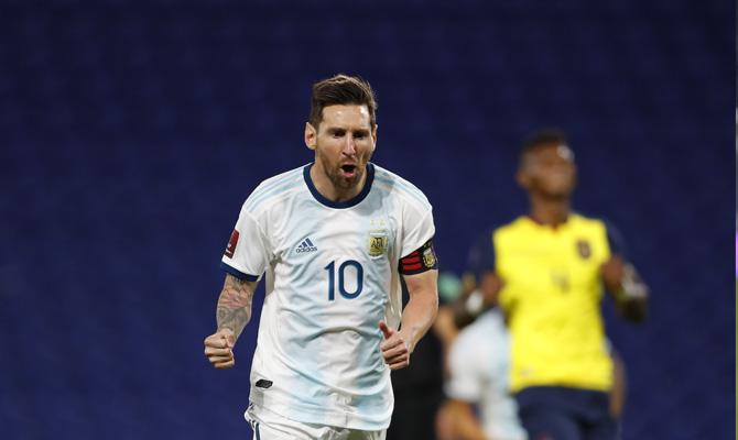 Messi Bolivia vs Argentina