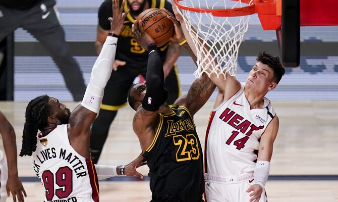 Finales NBA Los Angeles Lakers vs Miami Heat