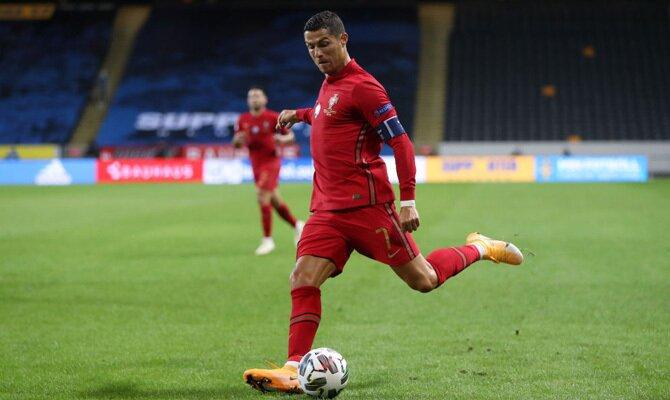 Portugal vs España Cristiano Ronaldo
