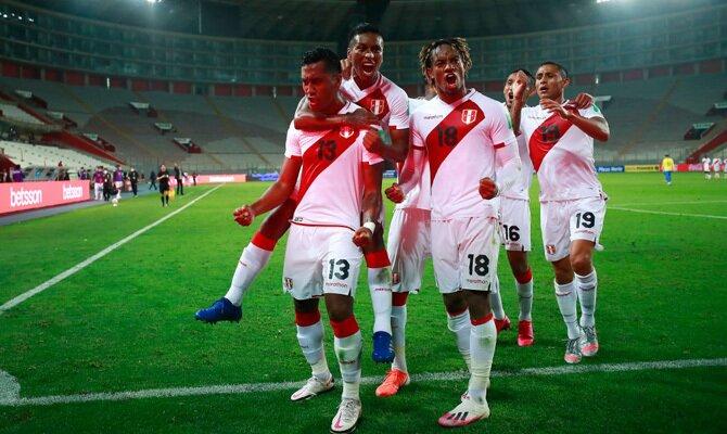 Eliminatorias Qatar 2022 Chile vs Perú