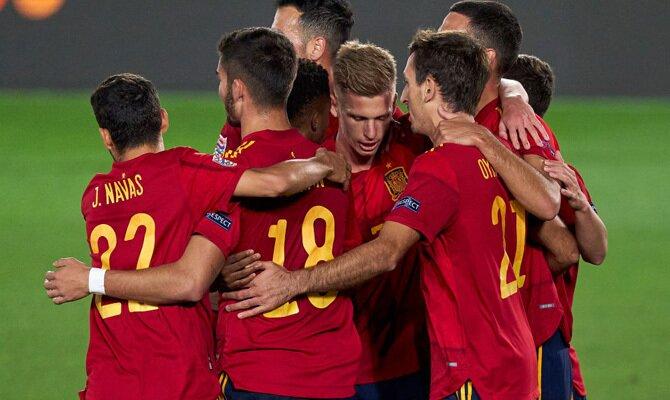 Holanda vs España Amistosos Internacionales