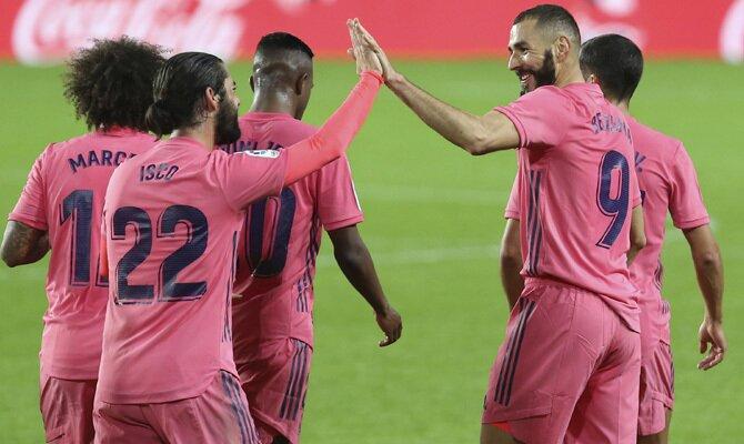 LaLiga Santander Villarreal vs Real Madrid