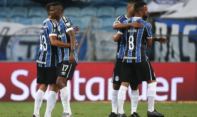 Champions League Gremio vs Santos