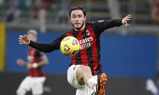 Davide Calabria Inter vs Milan