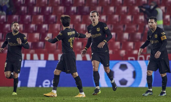 Antoine Griezmann está en forma y podrá ser fundamental en el Betis vs Barcelona