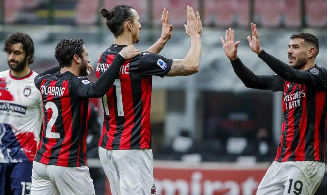 Ibrahimovic y Theo Hernández tienen que rendir al máximo para ayudar a su equipo en el Milan vs Inter