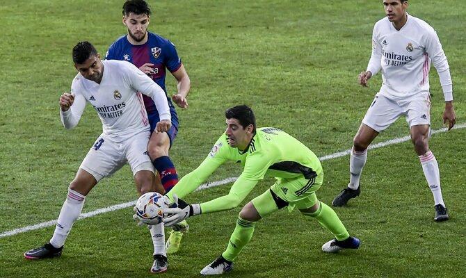 Thibaut Courtois tendrá gran protagonismo en las apuestas centradas en la anotación del Real Madrid vs Getafe