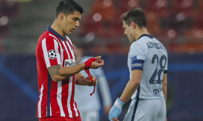 Luis Suárez y Azpilicueta cruza sus caminos en la Champions League. Revisa las cuotas para el Chelsea vs Atlético de Madrid