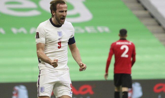Harry Kane, en la imagen, será una de las figuras más relevantes en los pronósticos del Inglaterra vs Polonia