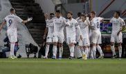 Los Blancos celebran un gol en la ida. Revisa nuestros picks para el Liverpool vs Real Madrid