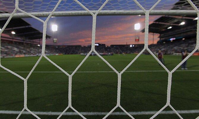 Imagen de la red de una portería. Revisamos las cuotas del Sporting Cristal vs Alianza Lima